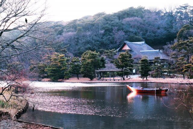 Vườn Sankeien ở thành phố Yokohama