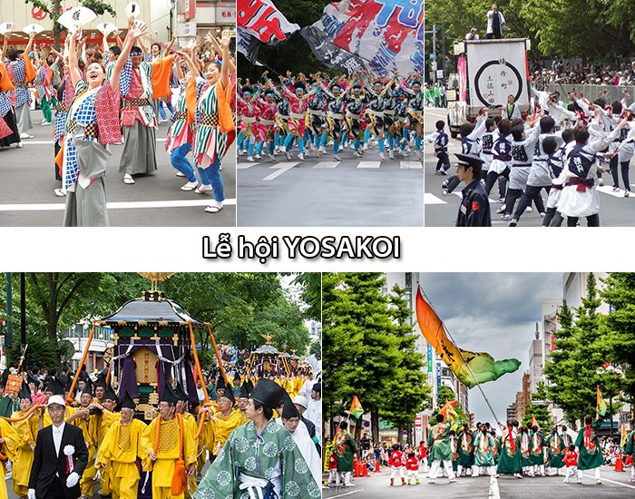 Lễ hội Yosakoi Soran Masturi