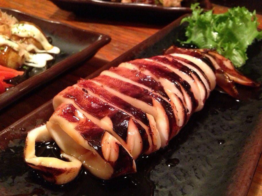Mực nướng (Ikayaki)