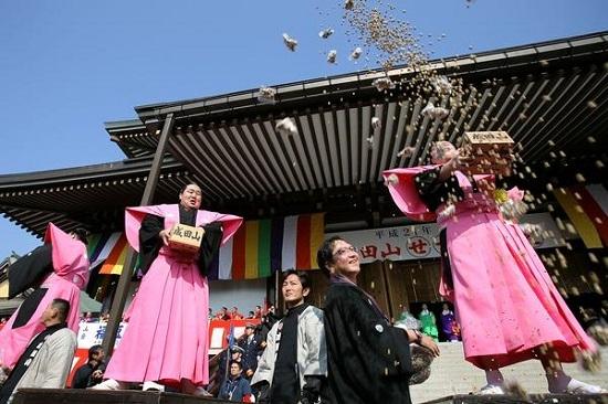 Lễ hội lập Xuân ở Nhật Bản vào tháng 2