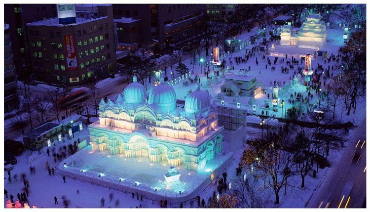 Lễ hội tuyết Sapporo (Hokkaido)