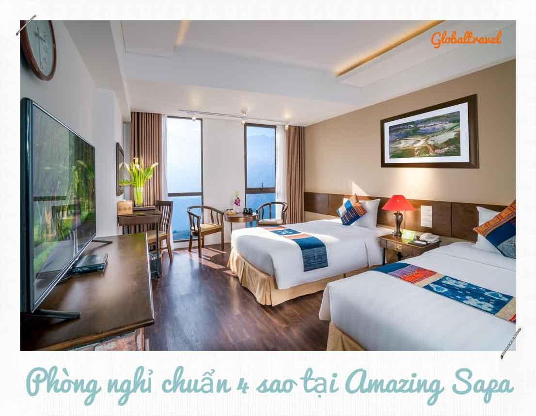 Khách sạn Amazing Sapa 4 sao