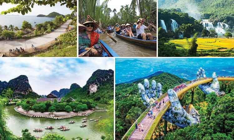 Những hình ảnh về tour du lịch giá rẻ trong nước