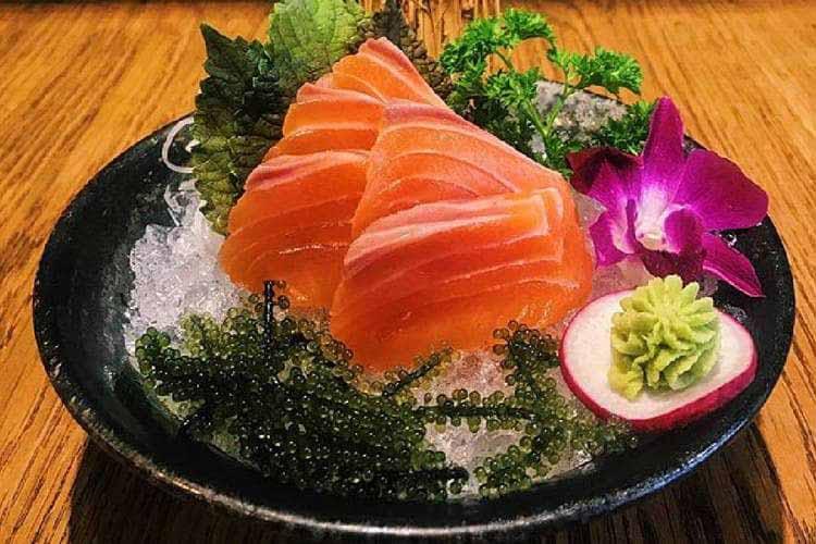 Gỏi cá Hồi Sapa