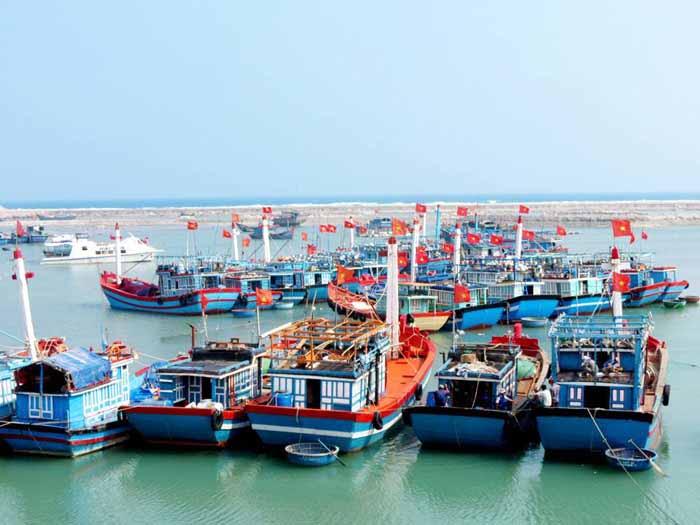cảng Sa Kỳ - Tp Quảng Ngãi.