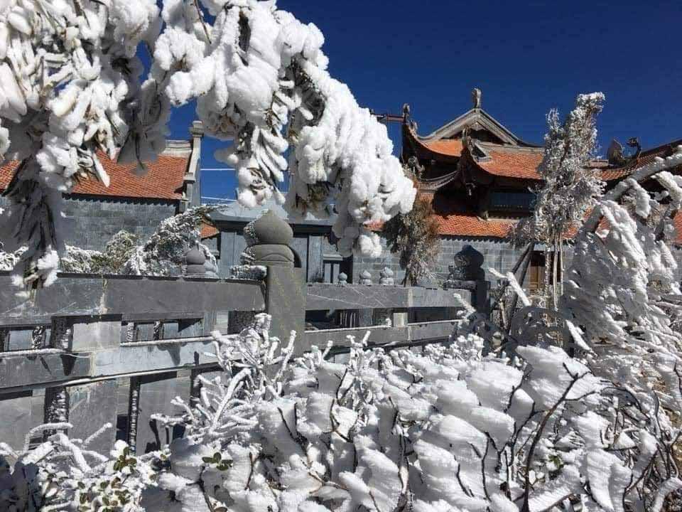 Hình ảnh đẹp về Sapa mùa tuyết rơi