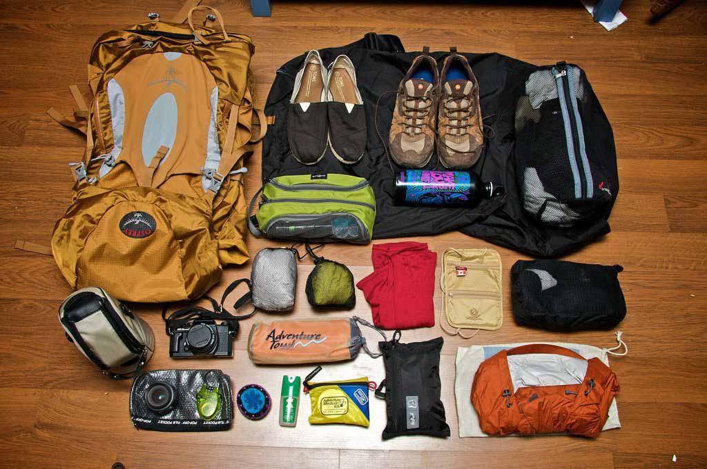 Hành lý đi du lịch Sapa