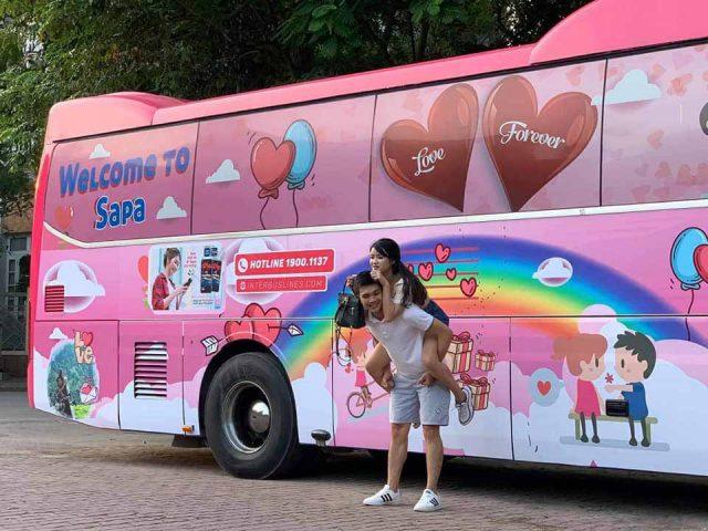Interbus gắn kết yêu thương các đôi tình nhân
