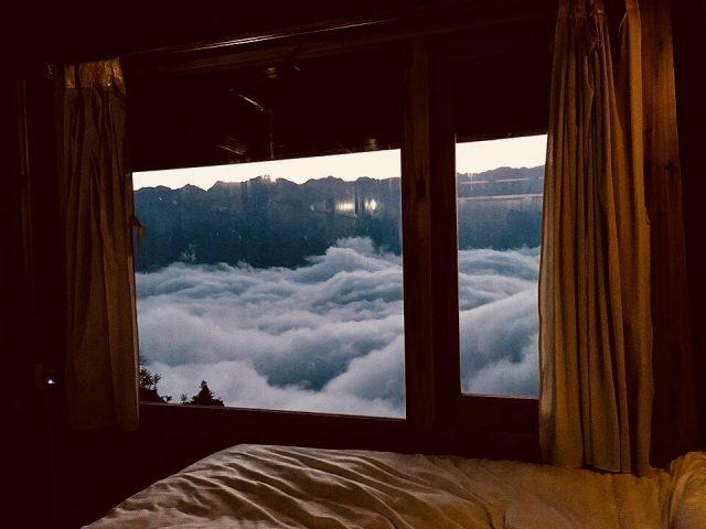 săn mây Sapa ngay tại cửa sổ phòng