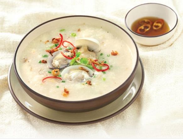 Cháo ngán mang hương vị đậm đà biển cả Hạ Long