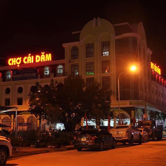 Chợ Cái Dăm mở cửa 24/24 phục vụ khách hàng