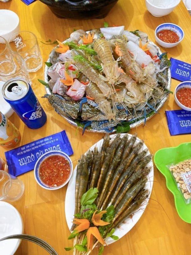 Du lịch Hạ Long ăn hải sản cực ngon ở Đông Hồ Quán