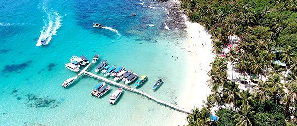 Tham quan biển đảo Phú Quốc bằng ca nô