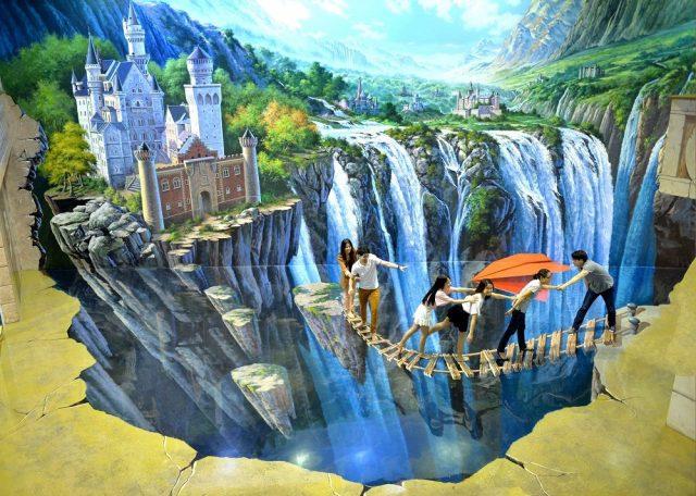 Bảo tàng tranh 3D ở Đà Nẵng như cuộc sống thực